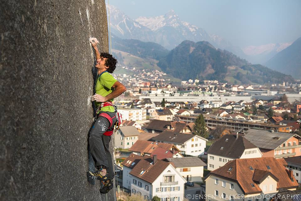 Jacopo in the crux